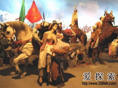 中国史上最耻女俘:贵妃公主惨如娼妓