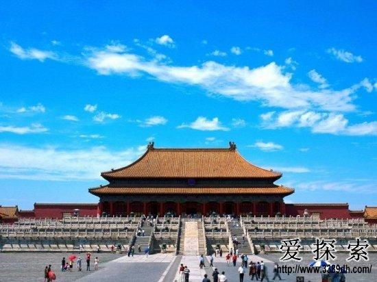 北京故宫-盘点 老外最喜欢的中国十大景区