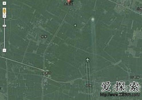 谷歌地图现中国飞机追逐ufo或为巧合