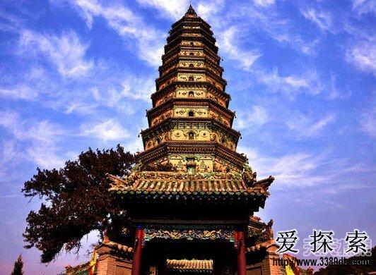 揭中国古代十大名塔