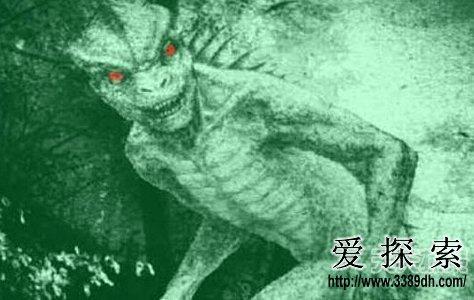 蜥蜴人之谜_美国曾经盛传过一段蜥蜴人之谜