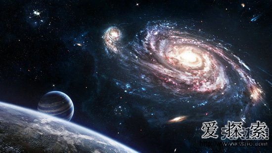quo;就住在星系的外围