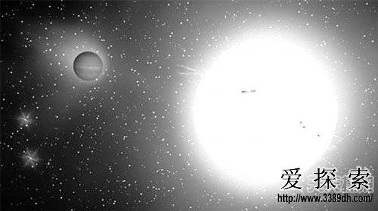 TrES-4的母星GSC 02620-00648位在武仙座距离约440秒差距,相当于1435光年。TrES是利用小望远镜观测网,大量观测恒星亮度,搜索系外行星通过其母恒星前方而使其亮度降低的现象。TrES-4是利用凌日法发现的第19颗系外行星,它让它的母星亮度降低约1%左右,虽微小,但仍在仪器可检测的量程内。   此类大型气体巨行星的重力可拉扯母星,使母星有微小的摆动;天文学家利用夏威夷10米凯克望远镜仔细观察测量,得出TrES-4的质量后,天文学家才确认这是颗行星而非恒星。  得出TrES-4的质量