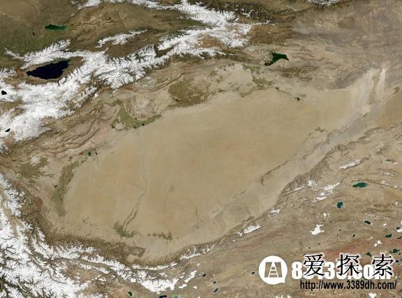 中国四大盆地:塔里木盆地